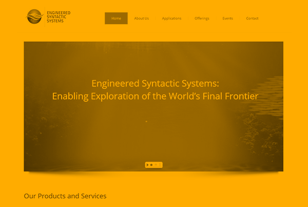Website Development for Subsea Innovators
